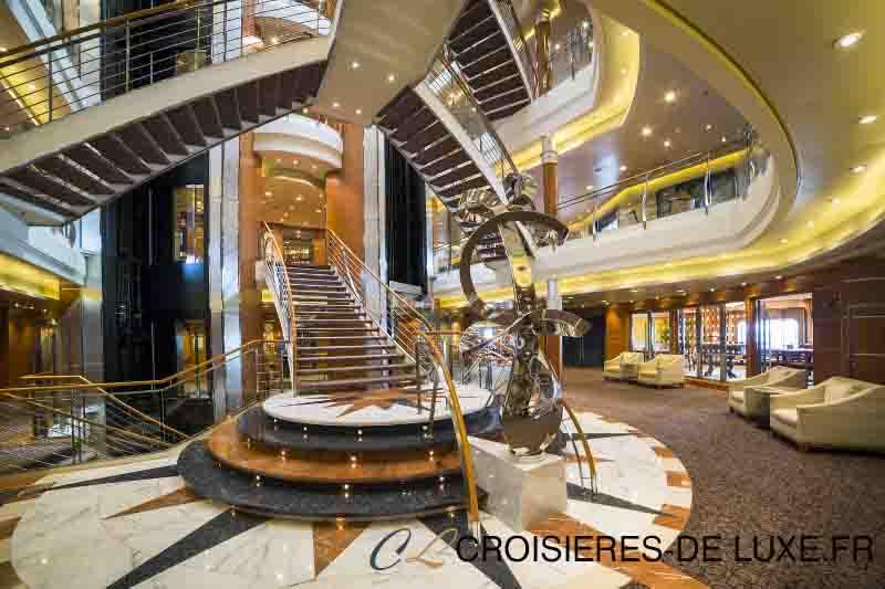 Le luxe est partout dans les navires