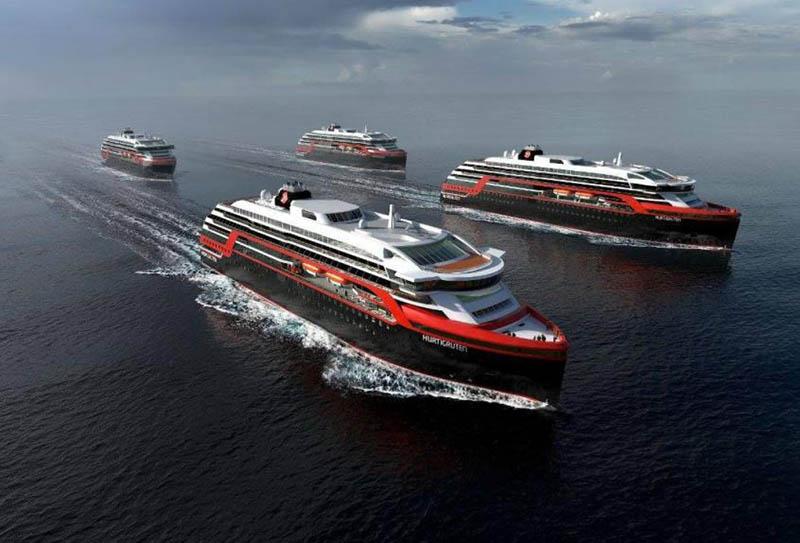 navires de Hurtigruten 2017 - 2018