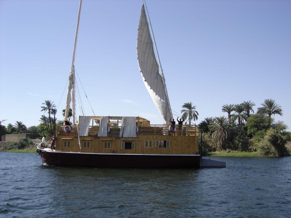 croisière sur le Nil en sandal