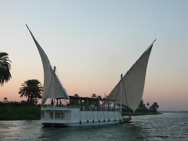Dahabieh sur le Nil